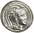 Ancients:Greek, Ancients: Athens. Ca. 165-42 BC. AR tetradrachm (31mm, 16.61 gm,11h)....