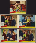 "Movie Posters:Comedy, Christmas Eve (United Artists, 1947). Lobby Cards (5) (11"" X 13.5"" & 11"" X 14""). Comedy.. ... (Total: 5 Items)"