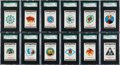 "Non-Sport Cards:Sets, 1938 R17-2 Switzer's Licorice ""Army Air Corps Insignia"" SGC-GradedComplete Set (100). ..."
