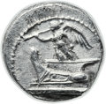 Ancients:Greek, Ancients: Demetrius I Poliorcetes (306-283 BC). AR hemidrachm(13mm, 2.07 gm, 10h)....