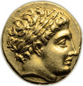 Ancients:Greek, Ancients: MACEDONIAN KINGDOM. Philip II (359-336 BC). AV stater (18mm, 8.61 gm, 5h)....