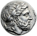Ancients:Greek, Ancients: Philip II (359-336 BC). AR tetradrachm (24mm, 14.35 gm,7h)....