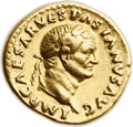 Ancients:Roman Imperial, Ancients: Vespasian (AD 69-79). AV aureus (19mm, 7.33 gm, 6h). ...