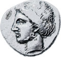 Ancients:Greek, Ancients: CRETE. Knossos. Ca. 450-375 BC. AR stater (25mm, 10.99gm, 2h). ...