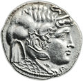 Ancients:Greek, Ancients: Ptolemy I Soter, as satrap (ca. 323-305 BC). ARtetradrachm (28mm, 14.81 gm, 1h)....