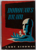 Books:Science Fiction & Fantasy, [Jerry Weist]. Curt Siodmak. SIGNED. Donovan's Brain. Triangle, 1944. Later edition. Signed by the author. Tonin...