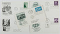 Books:Non-fiction, [First Day Covers]. Group of Five Related to United States History. 1958-1970. Fine. ...