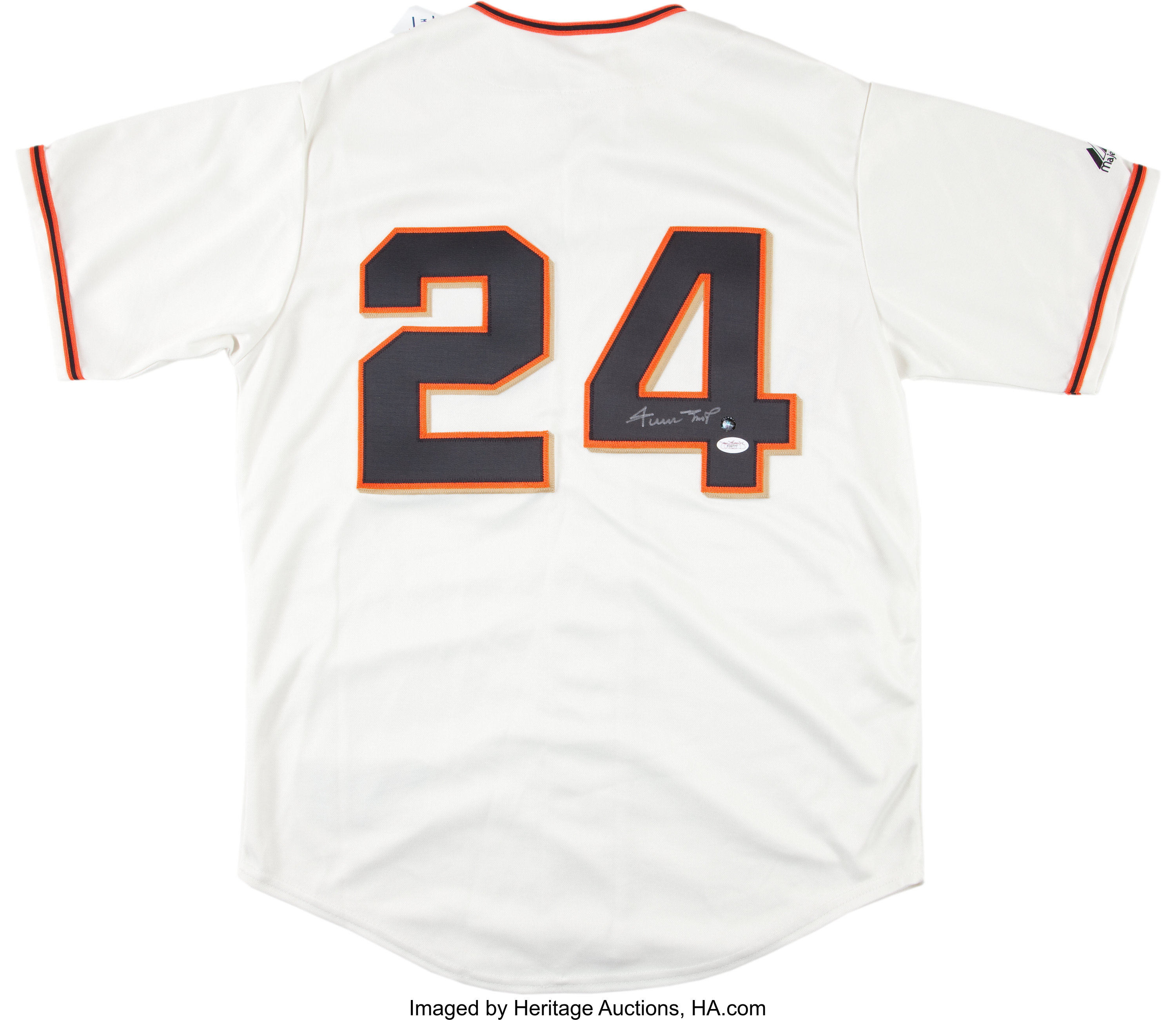 the best attitude fb709 345a4 Willie Mays Signed New York Giants Jersey. ... Baseball ...