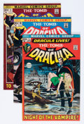 Bronze Age (1970-1979):Horror, Tomb of Dracula Group (Marvel, 1972-73) Condition: Average FN....(Total: 8 Comic Books)