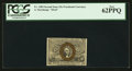 Fractional Currency:Second Issue, Fr. 1284 25¢ Second Issue PCGS New 62PPQ.. ...
