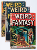 Golden Age (1938-1955):Science Fiction, Weird Fantasy Group (EC, 1952-54).... (Total: 5 Comic Books)