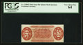 Fractional Currency:Third Issue, Fr. 1330SP 50¢ Third Issue Narrow Margin Back PCGS Very Choice New 64.. ...