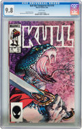 Modern Age (1980-Present):Miscellaneous, Kull the Conqueror V3#10 (Marvel, 1985) CGC NM/MT 9.8 White pages....