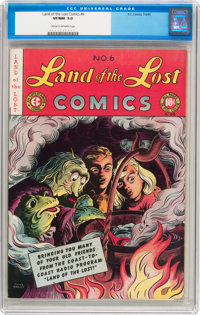 Land of the Lost Comics #6 (EC, 1947) CGC VF/NM 9.0 Cream to off-white pages
