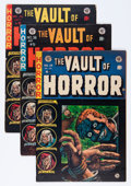 Golden Age (1938-1955):Horror, Vault of Horror #34, 36, and 38 Group (EC, 1953-54) Condition:Average Apparent VG.... (Total: 3 Comic Books)