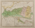 Books:Maps & Atlases, Lot of 5 Hand-Colored Maps of the Mediterranean Area Circa 1808. From Atlas Classica Being a Collection of Maps of the Co...
