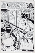 Original Comic Art:Panel Pages, Gil Kane and Wally Wood Captain Action #5 Page 9 OriginalArt (DC, 1969)....