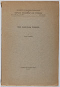 Books:Americana & American History, Lucile Hooper. The Cahuilla Indians. University of CA, 1920.First edition, first printing. Bookplate. Toning. Light...