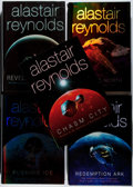 Books:Science Fiction & Fantasy, [Jerry Weist]. Alastair Reynolds. Group of Five First Editions, One Signed. Gollancz, 2000-2006. Redemption Ark is signe... (Total: 5 Items)