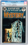 Bronze Age (1970-1979):Horror, House of Mystery #218 (DC, 1973) CGC NM+ 9.6 Off-white to white pages....