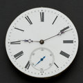 Timepieces:Other , Rare Detent Chronometer Movement With Fusee, Leather Box. ...