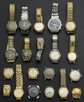 Timepieces:Wristwatch, A Lot Of Twenty Wristwatches For Repair Or Restoration. ... (Total:20 Items)