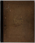 Books:Maps & Atlases, F. W. Beers. Atlas of Tioga Co., New York. Beers, 1869. Hand-coloring. Toning and foxing. Architectural drawings and...