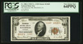 National Bank Notes:Louisiana, Mansfield, LA - $10 1929 Ty. 2 The American NB Ch. # 11669. ...