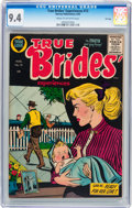 Golden Age (1938-1955):Romance, True Brides' Experiences #13 File Copy (Harvey, 1955) CGC NM 9.4Cream to off-white pages....