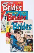 Golden Age (1938-1955):Romance, Teen-Age Brides File Copies Group (Harvey, 1953-55) Condition:Average VF/NM.... (Total: 11 Comic Books)
