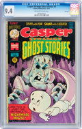 Bronze Age (1970-1979):Cartoon Character, Casper Strange Ghost Stories #1 File Copy (Harvey, 1974) CGC NM 9.4Off-white to white pages....