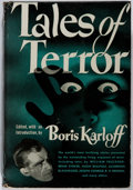 Books:Horror & Supernatural, Boris Karloff [editor]. Tales of Terror. World, 1946. Sixthprinting. Toning and offsetting with minor bio-predation...
