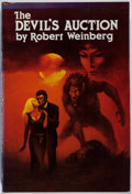 Books:Horror & Supernatural, Robert Weinberg. INSCRIBED. The Devil's Auction. OwlswickPress, 1988. First edition, first printing. Signed and i...