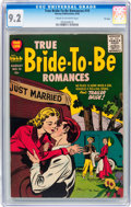 Golden Age (1938-1955):Romance, True Bride-to-Be Romances #19 File Copy (Harvey, 1956) CGC NM- 9.2Cream to off-white pages....