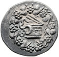 Ancients:Greek, Ancients: Pergamum. Ca. 166-67 BC. AR cistophoric tetradrachm(26mm, 12.36 gm, 1h)....