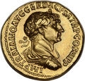 Ancients:Roman Imperial, Ancients: Trajan (AD 98-117). AV aureus (20mm, 7.18 gm, 7h)....