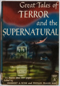 Books:Horror & Supernatural, Herbert A. Wise, et al. [editors]. Great Tales of Terror and theSupernatural. Modern Library, 1944. Later impressio...