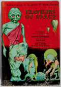 Books:Science Fiction & Fantasy, Edd Cartier [illustrator]. Martin Greenberg [editor]. Travelers of Space. Gnome, 1951. First edition, first prin...