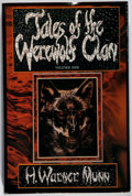 Books:Horror & Supernatural, H. Warner Munn. Tales of the Werewolf Clan. Grant, 1979.First edition, first printing. Minor rubbing and a few ...