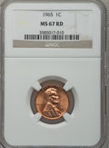Lincoln Cents: , 1965 1C MS67 Red NGC. NGC Census: (70/0). PCGS Population (14/0).Numismedia Wsl. Price for problem free NGC/PCGS coin in ...