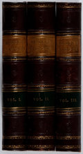 Books:Literature Pre-1900, Virgil. John Dryden [translator]. Works. Vol. I-III. Tonson,1721. Fifth edition. Toning and foxing. Engraved pl... (Total: 3Items)