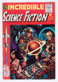 Golden Age (1938-1955):Horror, Incredible Science Fiction #30 (EC, 1955) Condition: VG/FN....