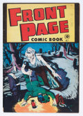 Golden Age (1938-1955):Horror, Front Page Comic Book #1 (Harvey, 1945) Condition: FN-....