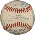 Autographs:Baseballs, 1950 New York Yankees Team Signed Baseball.. ...
