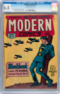 Golden Age (1938-1955):War, Modern Comics #51 (Quality, 1946) CGC FN+ 6.5 Off-white to whitepages....