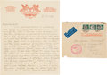 Autographs:Inventors, [Hindenburg]. James Naismith Autograph Letter Signed... (Total: 2Items)