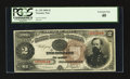 Large Size:Treasury Notes, Fr. 353 $2 1890 Treasury Note PCGS Extremely Fine 40.. ...