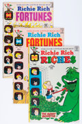 Bronze Age (1970-1979):Humor, Richie Rich-Related File Copies Group (Harvey, 1968-75) Condition:Average NM-.... (Total: 17 Comic Books)