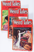 Pulps:Horror, Weird Tales Group (Popular Fiction, 1929-30) Condition: AverageGD/VG.... (Total: 7 Items)