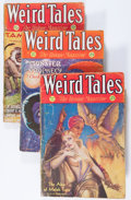 Pulps:Horror, Weird Tales Group (Popular Fiction, 1931-32) Condition: Average GD/VG.... (Total: 7 Items)